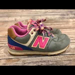 Girls New Balance Sneakers Size 1